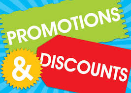 Promotions & Discounts